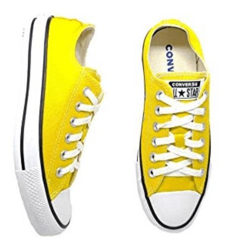 Tênis Feminino Converse All Star Original Amarelo- Ct0420