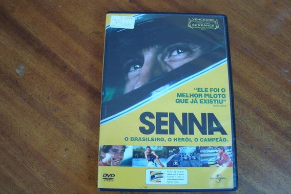 Dvd Documentario / Senna O Brasileiro O Heroi O Campeao