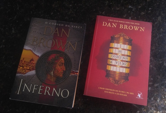 Kit Com 3 Livros: Inferno, Código Da Vinci E Os Crimes Abc