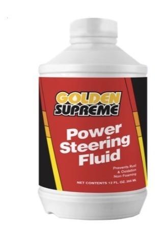 Aceite Power Steering Golden Supreme Importado 335 Ml
