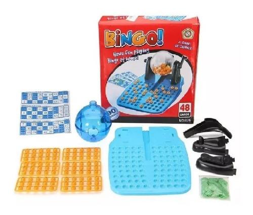 Bingo Loto Tradicional Juego Mesa