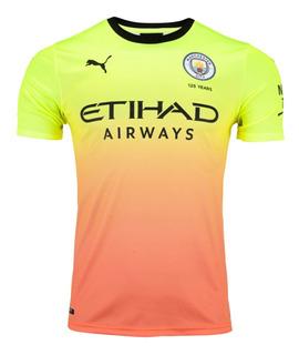 Camisa Puma Manchester City Oficial 2019 3rd Pronta Entrega