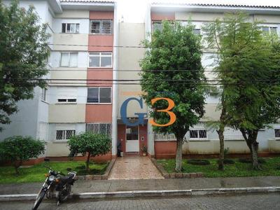 Apartamento Com 3 Dormitórios Para Alugar, 50 M² Por R$ 750/mês - Fragata - Pelotas/rs - Ap1574