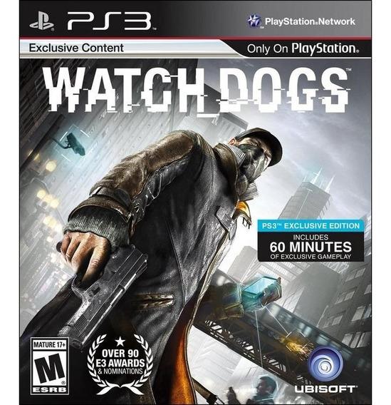 Watch Dogs Ps3 - Leia Descrição