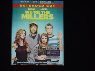Blu Ray Quienes Son Los Millers ( Cover Lenticular )