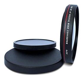 Lente Grande Angular 0,45x Zomei 52mm Canon Nikon Sony
