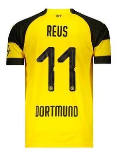 Camisa Puma Borussia Dortmund Home 2019 11 Reus