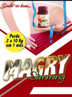 Magry Slimming 100% Original (perda De Peso) 30 Capsulas