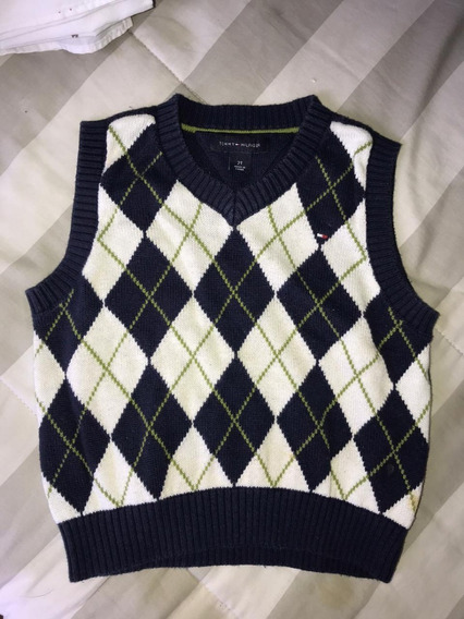 Sweaters Tommy Hilfiger Sin Mangas Talle 2 Años