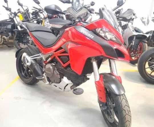 Ducati Multistrada 1200 Sport 2017 Apenas 5mkm Na Garantia