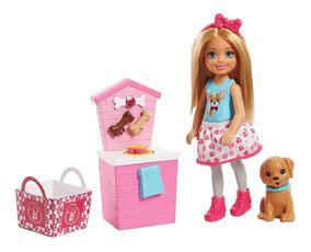 Conjunto Barbie - Barraca De Lanches Da Chelsea - Mattel