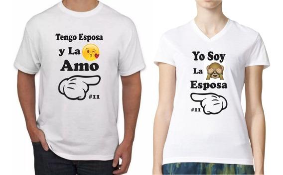 mejores ofertas en Boutique en ligne 50-70% de descuento Camisetas Personalizadas Para Parejas - Camisetas en Mercado ...
