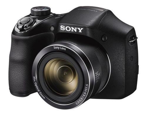 Imagen 1 de 2 de Sony H300 compacta avanzada color  negro