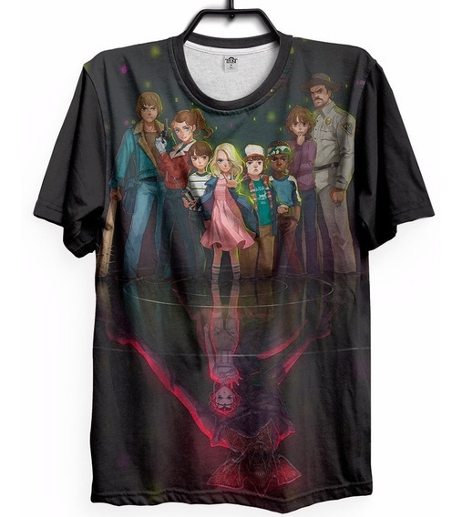 a297270d2a38 Camiseta Stranger Things Mundo Invertido - Camisetas com o Melhores ...