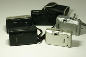 Lote 5 Cameras Olympus Mitsuca Vivitar Mirage