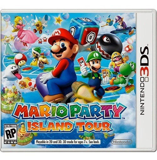 Mario Party Island Tour 3ds - Mídia Física