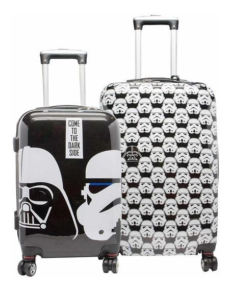 Set De 2 Valijas Semi Rigida Star Wars 20 Y 24 Dia Del Padre