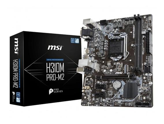 Tarjeta Madre Msi H310m Pro-m2