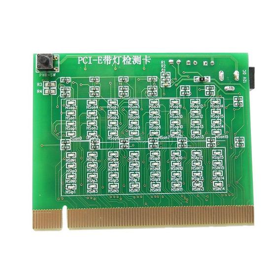 Testador De Slot Pci Express X16 X8 X4 X1 Simulador Led Pcie