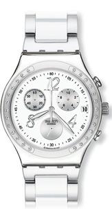 Reloj Swatch Dama Dreamwhite Ycs511gc + Envio Gratis