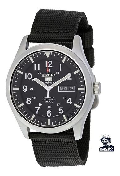 Reloj Seiko 5 Sports Snzg15 Automático En Stock Original