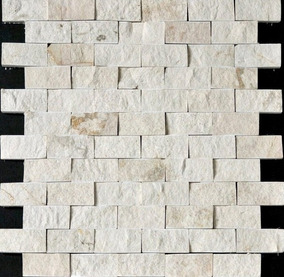 Malla Tapete Mármol Blanco Bellagio Cara De Piedra Rústico