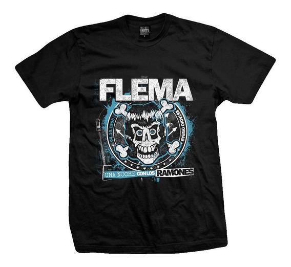 Remera Flema Una Noche Con Los Ramones Edic. Limitada
