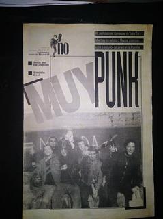 Punk Suplemento No De Pagina 10 Noviembre 1994