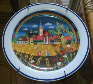 Plato De Porcelana Bavaria Bayreuth Colección Gloria Alemán