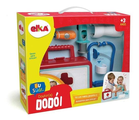 Maleta Medica Infantil Dr. Dodói Frete Grátis Elka 951