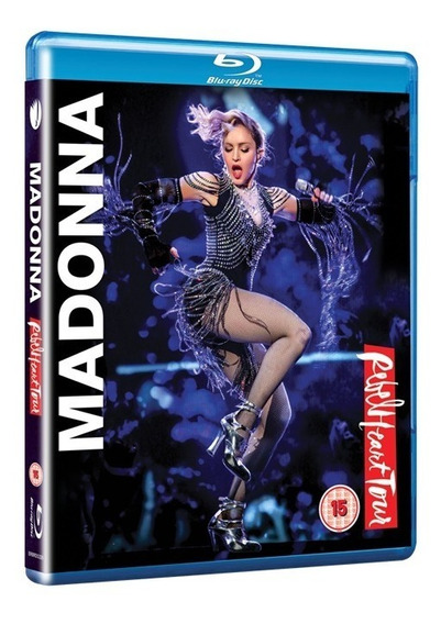 Blu-ray Madonna - Rebel Heart Tour Lacrado