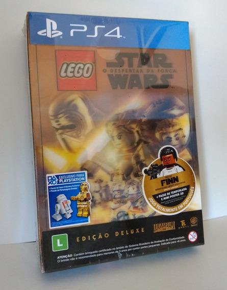 Lego Star Wars Deluxe Ps4 Mídia Física Lacrado