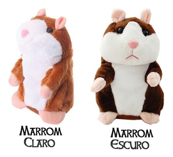 Brinquedo Hamster Falador-pilhas Inclusas-frete Gratis