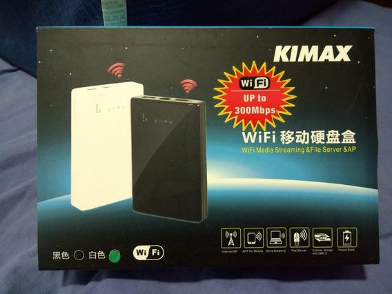 Hd Externo Wifi - Kimax Bs-u25awf(disco Rígido Não Incluído)