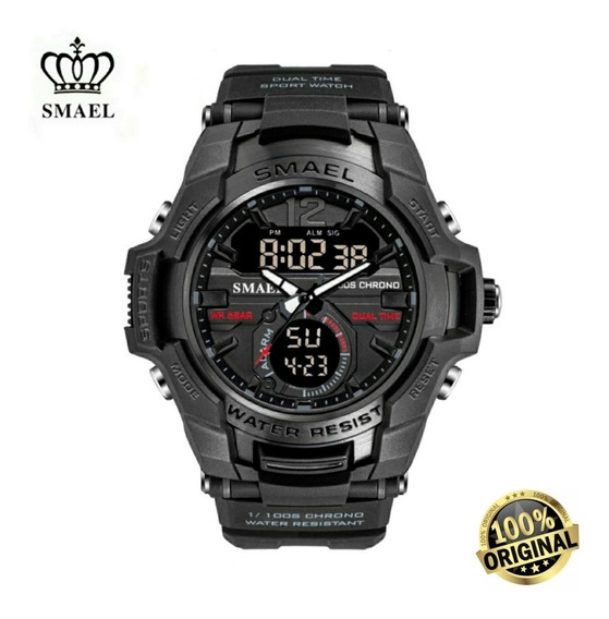 Relógio Masculino Esportivo Militar Digital S - Shock Smael
