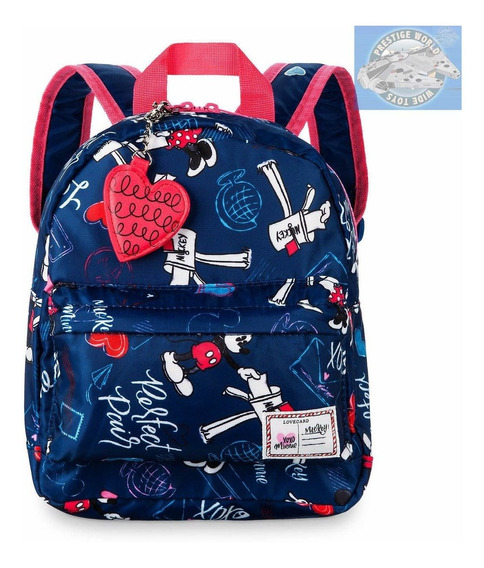Disney Parks Store Mochila Jardín Mickey And Minnie Mouse!