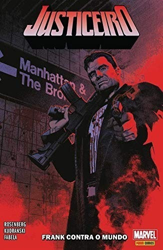Justiceiro Volume 1 Frank Contra O Mundo Panini Marvel Comic