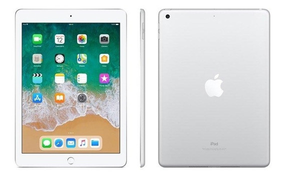 Novo iPad Apple, Tela Retina 9.7, 128gb, Prata, Wi-fi