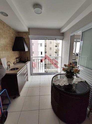 Apartamento Com 3 Dorms, Barcelona, São Caetano Do Sul - R$ 675 Mil, Cod: 1594 - V1594