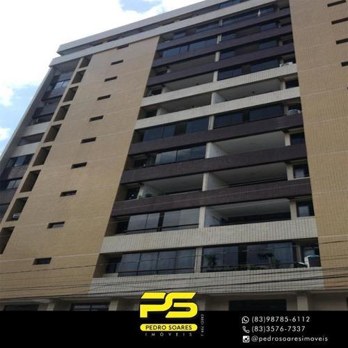 Apartamento Com 4 Dormitórios À Venda, 125 M² Por R$ 480.000,00 - Jardim Oceania - João Pessoa/pb - Ap3751