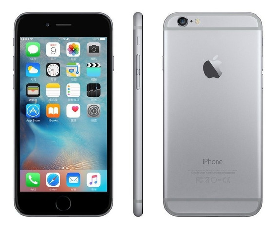 Apple iPhone 6s Space Gray 16 Gb (renewed)