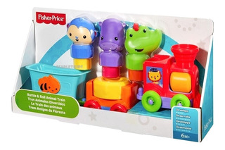 Tren Animales Divertidos Sonido Fisher Price Scarlet Kids