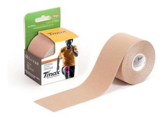 Kinésio Tmax Bege - Bandagem Elástica Terapêutic: 5cm X 5m