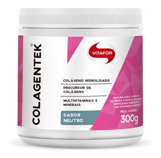 Colagentek (colágeno Hidrolisado) - 300 Gr - Vitafor Neutro