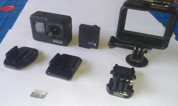 Câmera Gopro Hero 7 Black +cartão Ultra 64gb