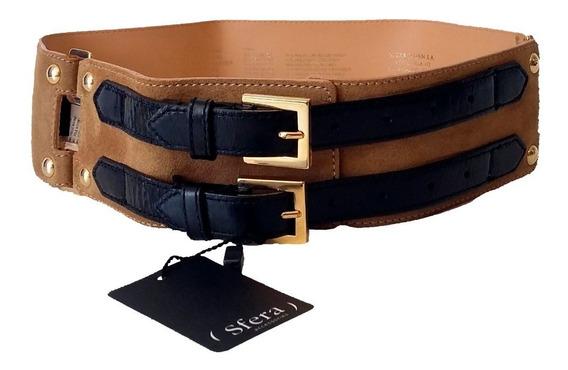 Cinturon De Mujer Sfera Joven 100% Piel Nuevo