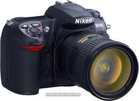Kit Nikon D200 + Lente 35-70 Nikkor + Cartao Cf