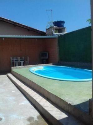 Casa Com Piscina E 1 Dormitório Na Praia De Itanhaém.