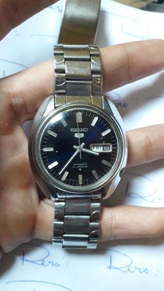 Relógio Seiko 5 6119 - Automático - Antigo - R452