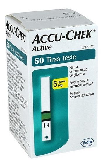 Tiras Reactivas Accu-chek Active 1 Frasco 50 Tiras